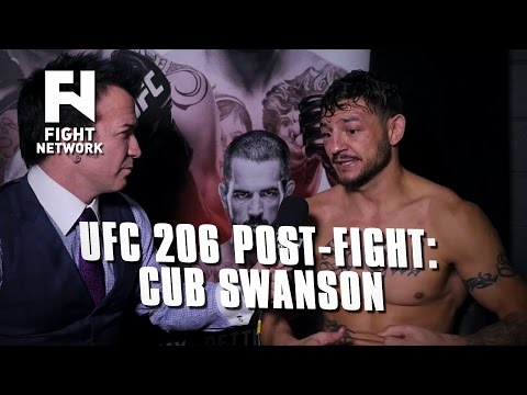 UFC 206: Cub Swanson Thought of Robin Black During Win Over Dooho Choi About 'Making This Art'