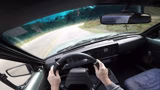 Chevrolet chevette 1.6 sl 1989 | test drive onobard POV gopro
