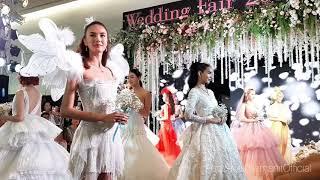 (แพนเค้ก) เดินแบบชุดเจ้าสาวในงาน Wedding Fair By NEO