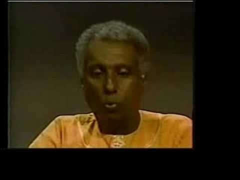 Kwame Ture (Stokely Carmichael) 1996 Interview part 1 of 5
