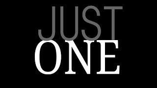 I am Just One - Invisible Illness Awareness