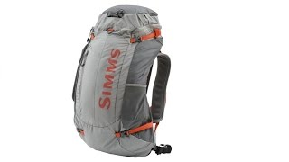 A review of the new 2016 Simms Waypoints Backpack
