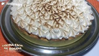 Lemon Pie (masa,relleno,merengue)