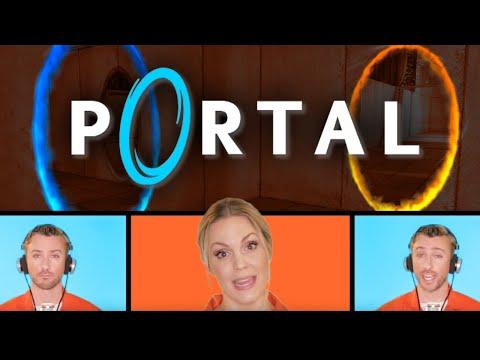 Portal - The Cake is a Lie feat. Devinsupertramp + Evynne Hollens