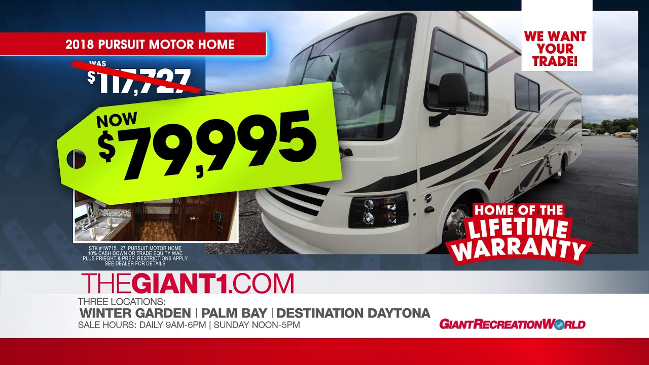 rv for sale pursuit youtube