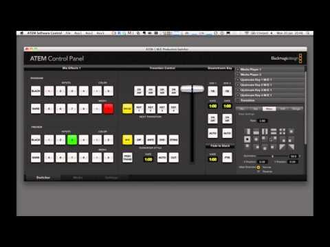 StudioTech -- Blackmagic Design ATEM 1 - Part 2