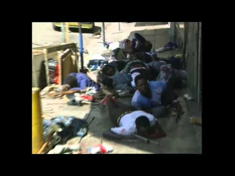 South Africa March 28 1994 Pre-Election Zulu-ANC Violence in Johannesburg