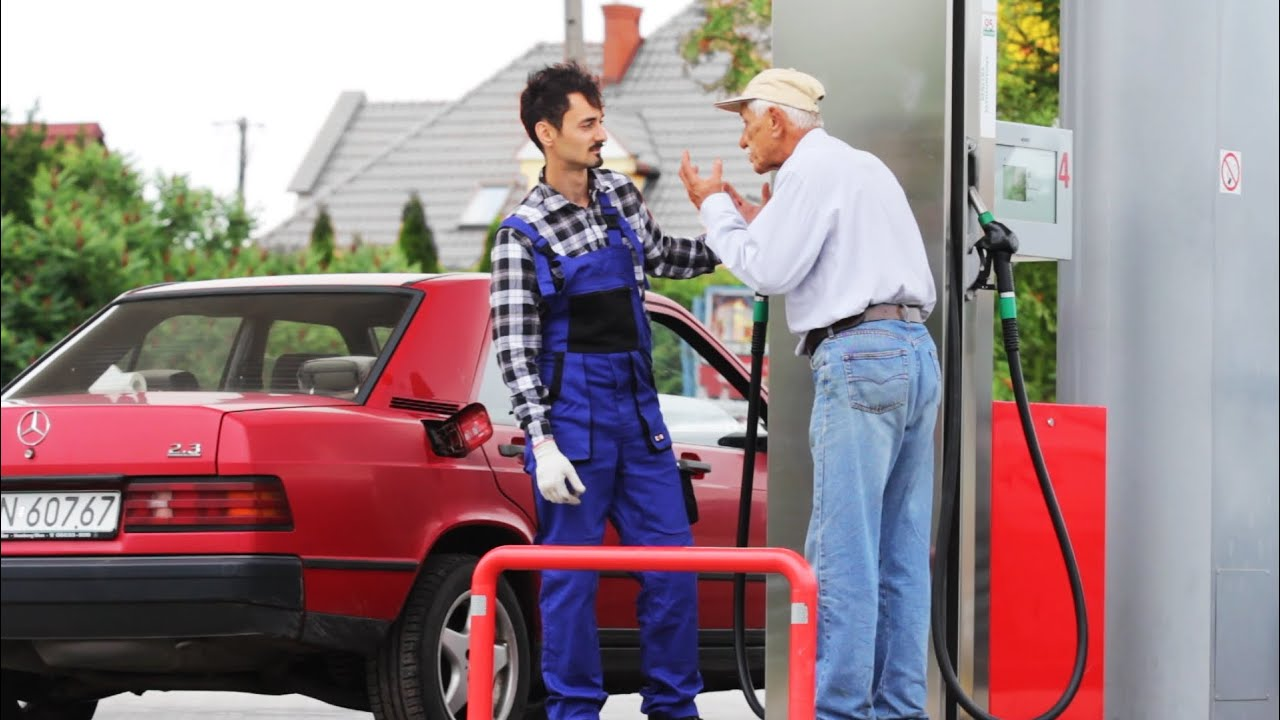 STOP! I Don't Want More Fuel! PRANK (Sadam)