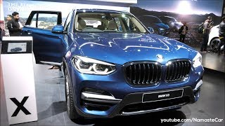 BMW X3 xDrive 20d G01 2018 | Real-life review