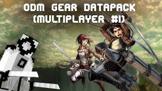 Attack On Titan O.D.M Gear Minecraft Datapack (1.16.4)