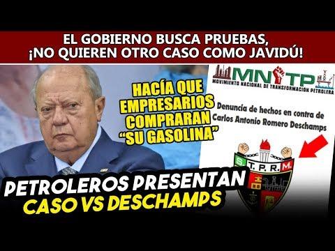 Petroleros van por Deschamps, Obrador necesita más pruebas por desabasto de gasolina