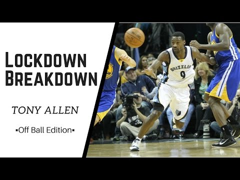 Tony Allen Defense - Off Ball Lockdown Breakdown