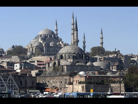 Istanbul treasures: Blue Mosque and Hagia Sophia