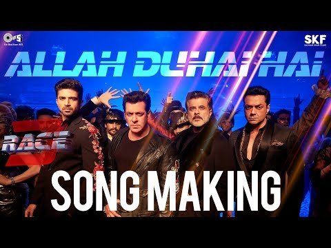 Allah Duhai Hai Song Making - Race 3 Behind the Scenes | Salman Khan | Remo D'Souza