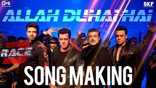 Allah Duhai Hai Song Making Race 3 Behind the Scenes | Salman Khan | Remo D