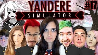 Gambar cover YOUTUBERS ADDED TO YANDERE SIMULATOR?! Am I One of Them???