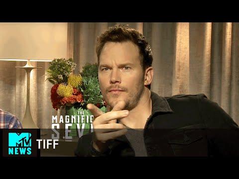 Chris Pratt Talks Magnificent Seven at TIFF | MTV News