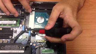 Removal of the Hard Drive from the DELL Latitude 6230
