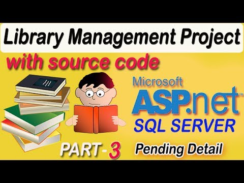Library Management project in ASP.NET C# with source code PART #3 |coderbaba