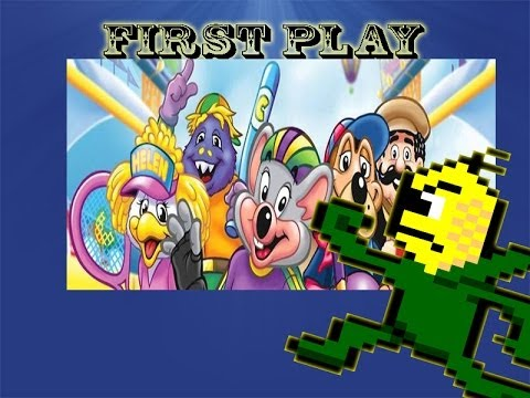 First Play - Chuck E. Cheese's Sports Games