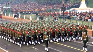 Indian Army Marching and Presidential Guard.wmv