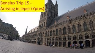 Arriving at Camping Jeugstadion Ypres - Benelux Trip 15