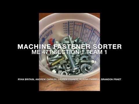 Machine Fastener Sorter