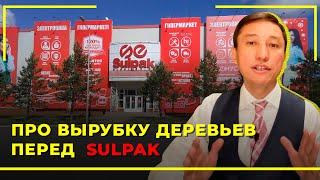 Про Вырубку Деревьев Перед Sulpak   Адвокат Таир Назханов