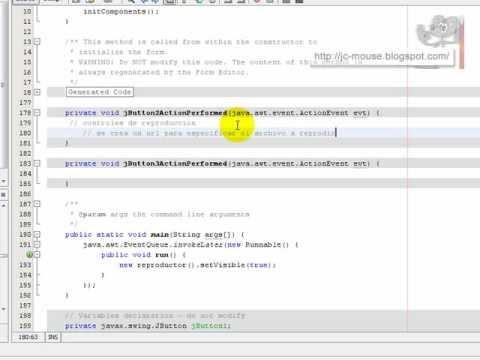 Reproductor de video en Java con JMF: Introducción a la API de JMF