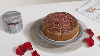 How to Make Rose Petal and Raspberry Chocolate Cake | House of Fraser