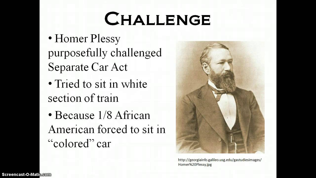 Anecdote Examples In Essay The Case Of Plessy V Ferguson Essay This Video Presents How The Landmark  Supreme Court Case Video Game Violence Essay also W E B Dubois Essay The Case Of Plessy V Ferguson Essay Essay Writing Service The Gettysburg Address Essay