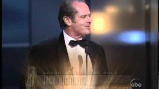 """Download Jack Nicholson winning an Oscar® for """"As Good as it Gets"""" Mp3 and Videos"""