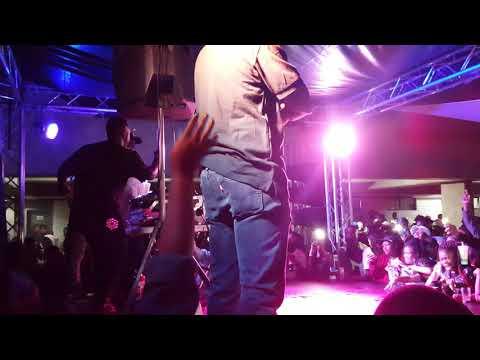 DJ SHIMZA AT SARATOGA BLACKOUT PARTY (26-04-2018)