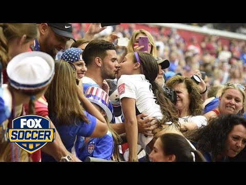 USWNT celebrate World Cup title with family, friends and loved ones