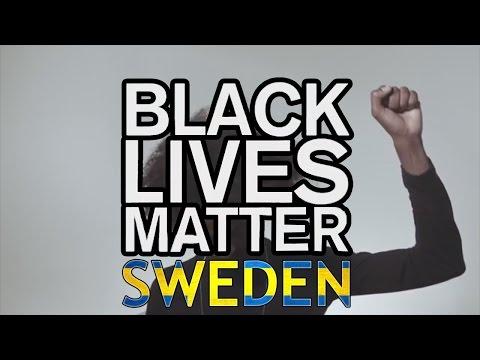Black Lives Matter nu i Sverige