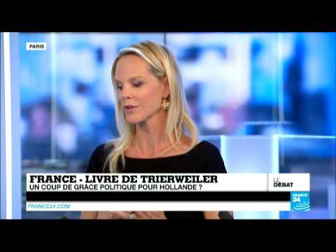 France -  Livre de Trierweiler : Un coup de grâce politique pour Hollande ? - #DEBATF24 (2)