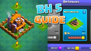 Clash of Clans BUILDERS HALL LEVEL 5 (BH 5) What To Upgrade Next!