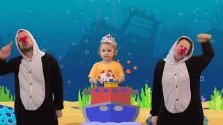 Baby shark dance by Super Eva