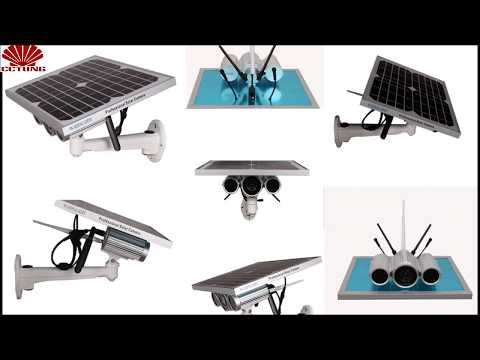 How to install 3G,  3G 4G solar power ip camera