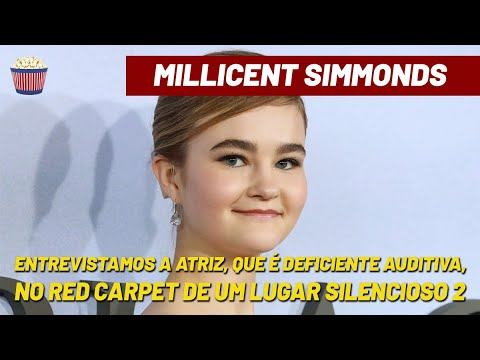Um Lugar Silencioso 2:  Entrevista com Millicent Simmonds, que é deficiente auditiva na vida real
