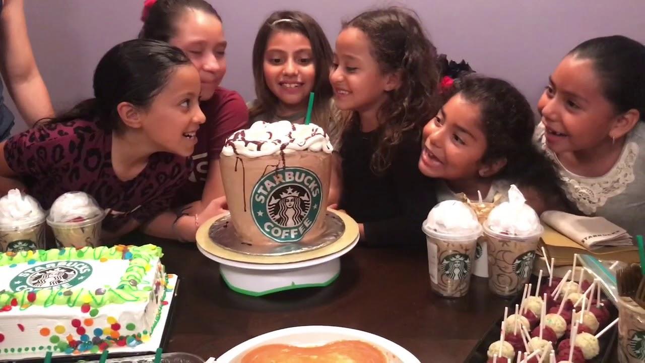 Kayleigh\u2019s 8th Birthday (Starbucks theme)