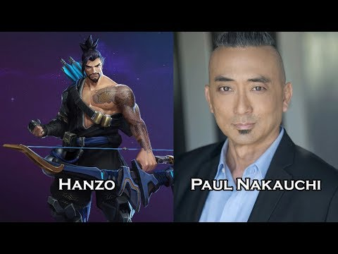 Characters and Voice Actors - Heroes of the Storm (Part 3)
