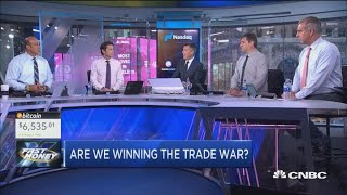 Does the trade war matter more to markets than the Mueller probe?