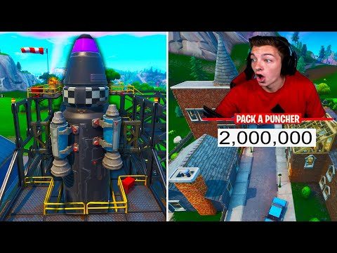2 MILLION SUBSCRIBERS REACTION!!! NEW FORTNITE MAP UPDATE! (Fortnite Battle Royale)