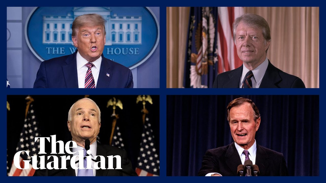 Trump, McCain, Bush and Carter: different reactions to bad election results