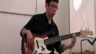 "Steve Dauna bass demo ""Sebab Tuhan Baik"" in POUKKP"