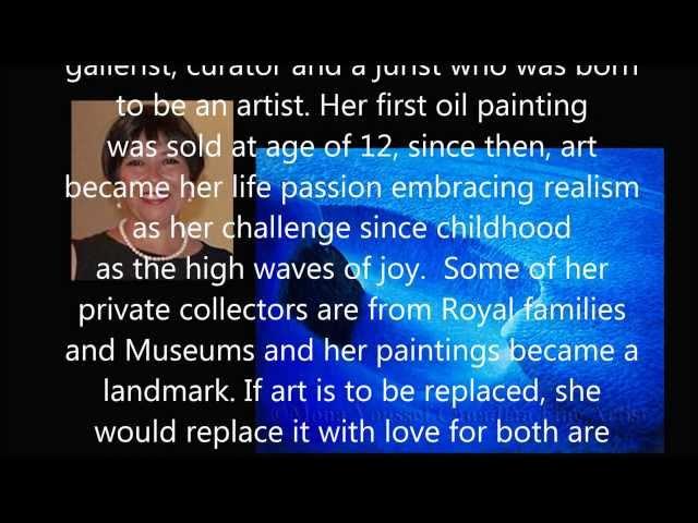 Mona Youssef Gallery represents Artists at Art Monaco 2014
