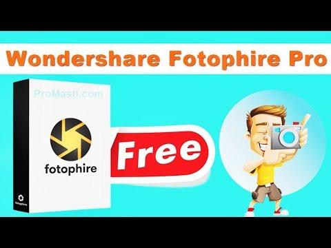 wondershare fotophire free download full version