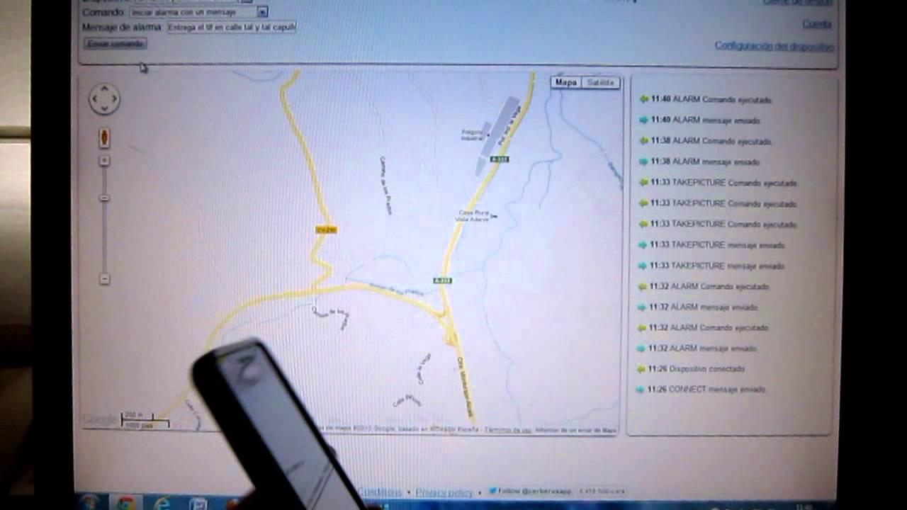 Localizar telefonos robados