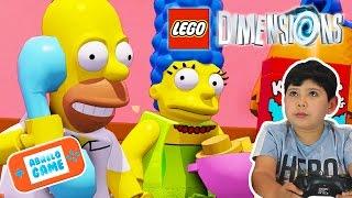 Lego Dimensions GamePlay en Español  Mundo de Los Simpsons Capitulo 4 I Abrelo Game Lego Dimensions